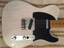 1 Of 12FREE Shipping Fender Telecaster USA Custom Shop 52 Postmodern Light Relic