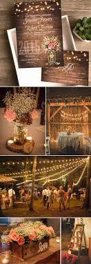 Seven Popular Rustic Wedding Invitation Styles For 2016 Spring Summer Weddings