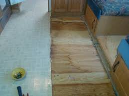 Best Type Of Flooring For Rv by Our Rv Experience Replacing Old Carpet With Flooring In Our Rv
