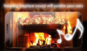 Freapp Christmas Fireplace Live Wallpaper ☆Winter fireplace