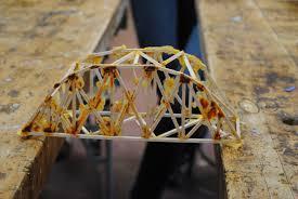 balsa wood bridge tied arch truss wood projects pinterest