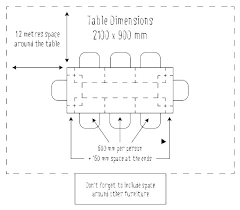 Typical Dining Table Width Standard Beautiful Average Room Size Formal