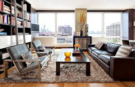 living room ideas brown leather sofa the importance of texture in interior design freshome