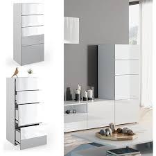 vicco schrank compo schubladenschrank aktenschrank büro wohnzimmer weiß weiß hochglanz