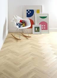 Vinyl Floor Tiles For Bedroom Style Kids Room Featuring Ash Flooring In Herringbone Pattern
