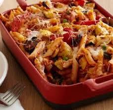 recette gratin de pâtes aux légumes