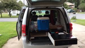 Dodge Grand Caravan 2015 Camper Van Conversion HD