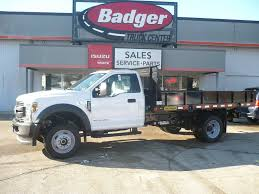 100 F450 Truck New 2019 Ford XL Flatbed Near Milwaukee 19988 Badger