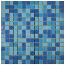 tile ideas blue ceramic floor tile 12x12 mosaic tile glass