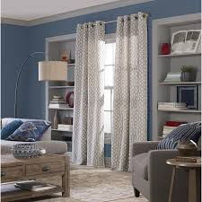 Sunbrella Curtains With Grommets by Shop Curtains U0026 Drapes At Lowes Com