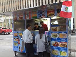 Is Manos Peruanas Midtown's First Peruvian Cart? | Midtown Lunch ... A Food Truck On Water Street In Lower Mhattan New York City La Baguette Cafe Mobile Food Truck Harlem Flickr This Week In Souvlaki Nyc Inspiration Pinterest Trucks Best Gourmet Vendors Carts Could Have Letter Grades By The End Of Cart Wraps Wrapping Nj Max Vehicle New York Juice Cart Google Search Home Frite Puran Dhaka Roaming Hunger Wkhorse Used For Sale Nyt Magazine Sucks Owners Eater Ny
