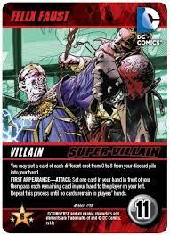 amazon com felix faust super villain dc comics deck building game