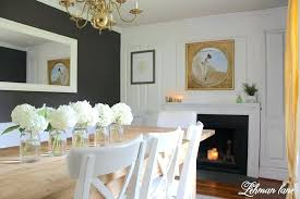 Dining Room Fireplace Mantel Decorating Ideas For The Whole Year With Decor