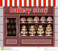 Store of sweets and bakery