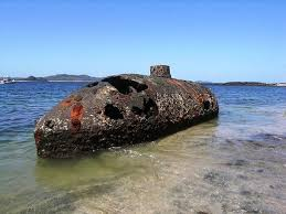 wreck of the sub marine explorer balboa district panama atlas