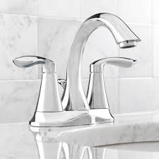 Moen Eva Faucet Leaking by Moen 6410 Eva Chrome Two Handle Centerset Bathroom Faucets