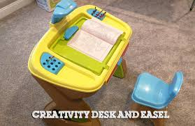 Step2 Art Master Desk And Stool by Toys R Us Creativity Desk And Easel Unboxing Assembling Youtube