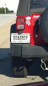 This guy s vanity plate is literally wrong 364 days per year