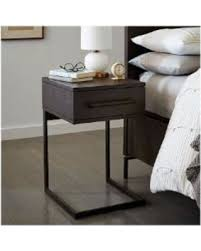 Winter Shopping Sales on West Elm Nash C Shaped Nightstand