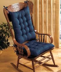 Rocking Chair Cushion Sets Uk by Lsi Rocking Chair Cushion Set Blue Amazon Co Uk Garden U0026 Outdoors