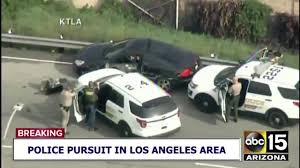 100 Truck Video VIDEO Driver Stops Car In Highspeed LA Chase
