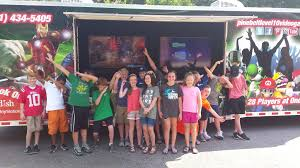 100 Game Truck Birthday Party Video In Hattiesburg Mississippi