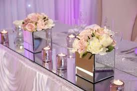 Mirrored Square Vase 3h Vases Mirror Table Decorationi 0d Weddings