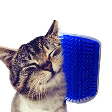 Pet cat Self Groomer Grooming Tool Hair Removal Brush b for