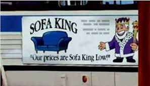 Snl Sofa King Commercial by It U0027s Good To Be King Or Not Duetsblog