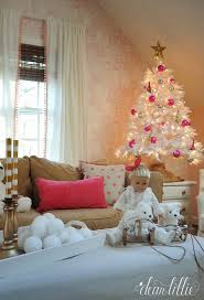 The White Tree Was From Our Sponsor Balsam Hill Girls Were So Excited To Have A And 45 Foot One Perfect Size For In Here