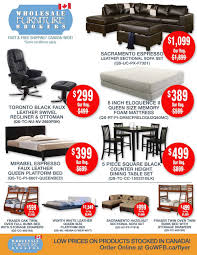 Wholesale Furniture Brokers Flyer