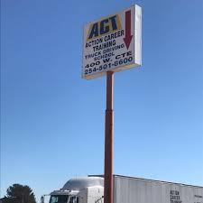 100 Central Truck Driving Academy Action Career Training III Specialty School Killeen Texas