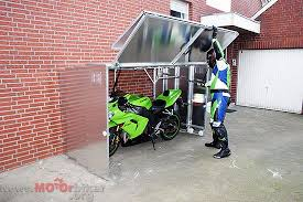 Telescopic Motorcycle Garage Motorcycle Enthusiasts