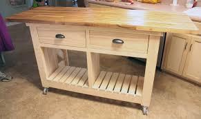 Kitchen Island Blue Ana White Cart Ideas Bed Portable
