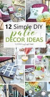 Backyard Patio Decorating Ideas by Patio Decorating Ideas 12 Simple Diy Ideas For Easy Summer