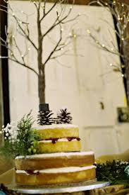 Country Chic White Blue Winter Wedding