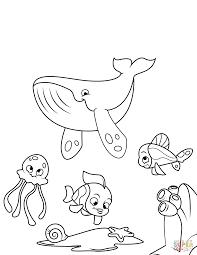 Los Niños De La Ballena Página Para Colorear Ilustraciones
