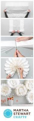 Add Captivating Decorations To Your Walls And Doors With The Martha Stewart Crafts Holiday Lodge Tissue Paper Flower Kit Has An Alluring