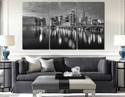 2018 3 Panel Big Size Top Sell Modern Wall Hanging Painting Black