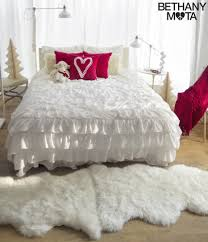 Daybed Bedding Sets For Girls by Bedding Set Graceful White Ruffle Bedding Amazon Delicate White