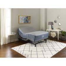 Luxor Folding Bed With Memory Foam by Bed Frames U0026 Box Springs Bedroom Furniture The Home Depot