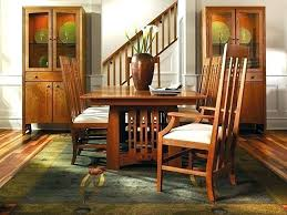 Craftsman Style Dining Room Furniture Table Mission