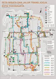 This Is The Map Of Yogyakarta