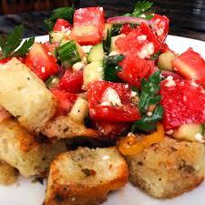 100 Heirloom La Food Truck Pizza Delicious Panzanella Tomatoes Cucumber Facebook