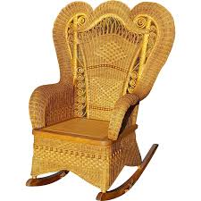 Antique Large Ornate Natural Victorian Wicker Rocker Circa ... Willow Twill Fabric Eiffel Beige Rocking Chair By Leisuremod Bentwood Stock Photos Asta Recline Comfy Recliner From Mocka Nz Chairs Patio The Home Depot Brylanehome Roma Allweather White Antique With Cane 3 Outdoor Swivel Glider Set Tikkawalacom Childs Lincoln Rocker I Refinished And Recaned It Amazoncom Blxcomus Garden Three Maya Vintage Used For Sale Chairish Lloyd Flanders High Back Wicker Porch