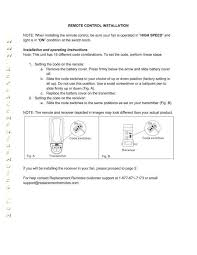 download free hton bay ceiling fan remote control pairing