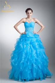 compare prices on crystal organza quinceanera dress online