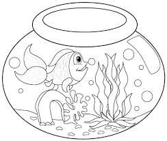 Animal Fish Coloring Pages Printables