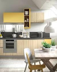 credence cuisine noir et blanc deco cuisine blanc et bois decoration cuisine m langez le noir le