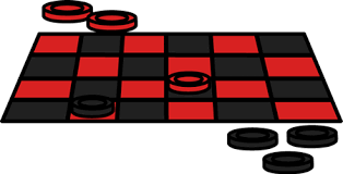 Checker Game Clip Art